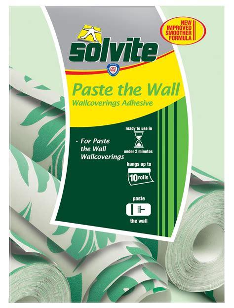Solvite Paste The Wall Wallpaper Adhesive 474G