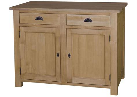 buffet de cuisine en pin acheter votre buffet de cuisine en pin massif avec portes et tiroirs chez simeuble