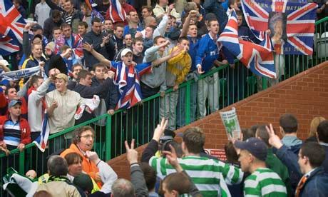 Now Celtic Fans Shame Scotland It's Not An Old Firm
