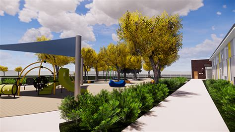 construction starts on jefferson early childhood center in 460 | JeffersonEarlyChildhoodCenter Playground Rendering