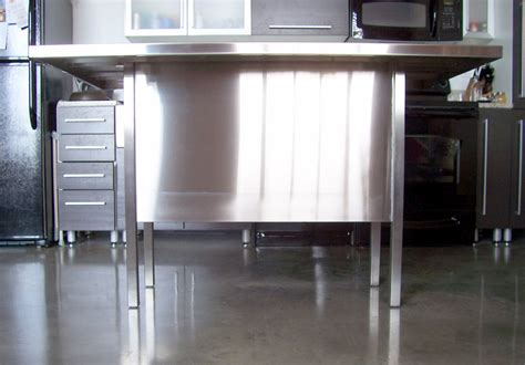 metal kitchen islands stainless steel kitchen island 28 images home styles