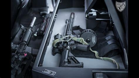 locker  vehicle rifle safe youtube