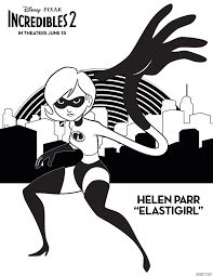 incredibles  coloring pages  printable coloring