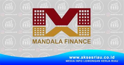 lowongan pt mandala multifinance tbk pekanbaru januari