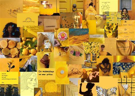 yellow aesthetic laptop wallpaper wallpaper iphone neon