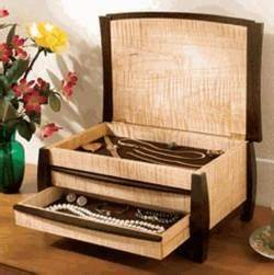 Jewelry Boxes & Music Box Woodworking Plans