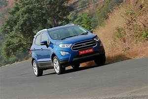 Ford Ecosport Gets New Features  Parking Sensors Now Standard