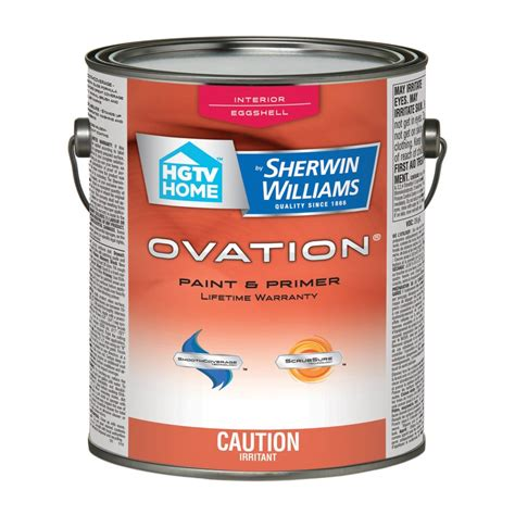 hgtv home by sherwin williams ovation interior paint