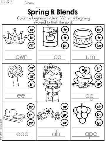 1st grade literacy no prep worksheets literacy