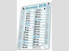 I Calendari 2018 di Creagratis