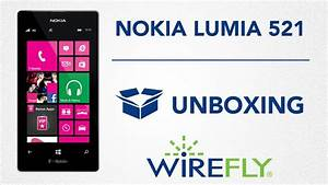 Unboxing T-mobile Nokia Lumia 521 By Wirefly