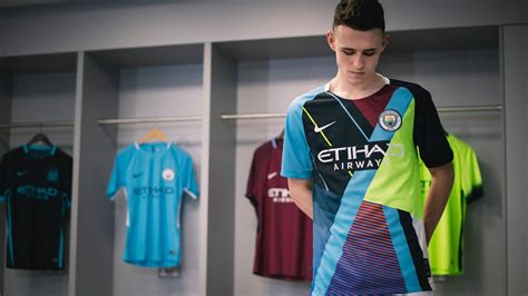 Manchester City, Mashup Jersey, Phil Foden | Nike football ...