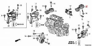 Rear Lower Honda Cr