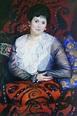 Portrait of Liubov Borgman Boris Mikhailovich Kustodiev ...