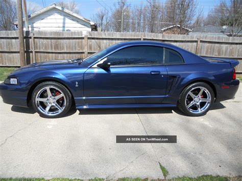2001 ford mustang coupe 2001 ford mustang svt cobra coupe true blue