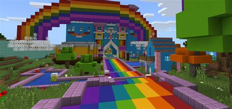 world  color creation minigame minecraft pe maps