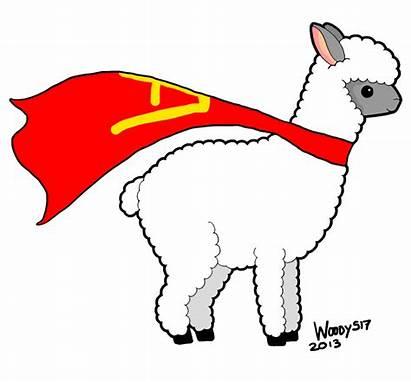 Alpaca Llama Clipart Transparent Clip Silhouette Cliparts