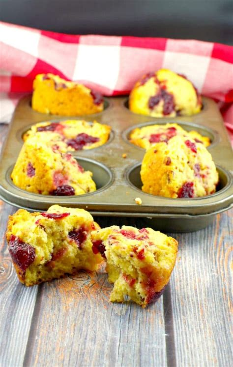 Instead, i've decided to see how i can use cornbread in other ways. Cranberry Cornbread Muffins|leftover cranberry sauce -Food Meanderings