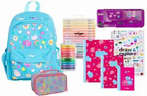 Smiggle Back To School Pack