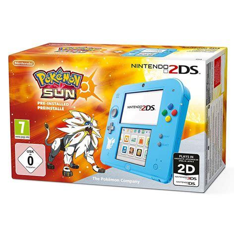 Nintendo 2ds Console by Nintendo 2ds Bleu Pok 233 Mon Soleil Console Nintendo 3ds