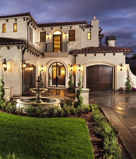 Single Story Mediterranean House Plans Dream Home