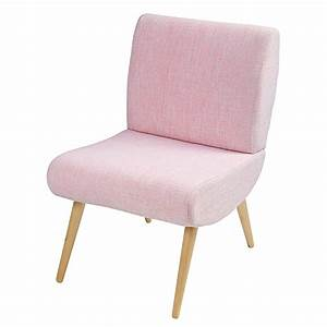 Fauteuil Vintage Maison Du Monde : fauteuil vintage en tissu rose cosmos maisons du monde ~ Teatrodelosmanantiales.com Idées de Décoration