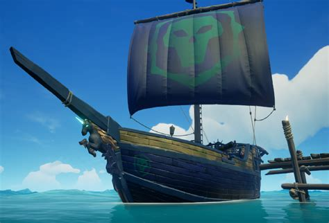 pirate legend ship sloop version seaofthieves