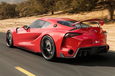 Toyota Ft1 Concept First Look  Motor Trend