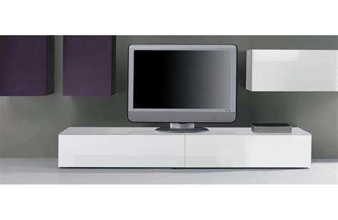 canapé cuir alinea meuble tv bas blanc laque