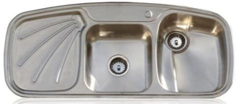retro kitchen sink with drainboard drainboard kitchen sinks in stainless steel three 7780