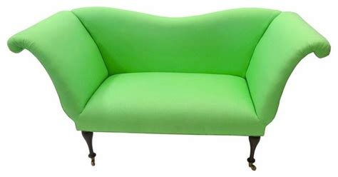 Tiger Lily's Greenwich Lime Green Settee