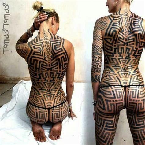 Neo Tribal Tattoo By Tomas Tomas, London, Uk  Full Body