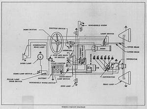Wiring Diagram Of 1929 Buick Series 116  121  And 129