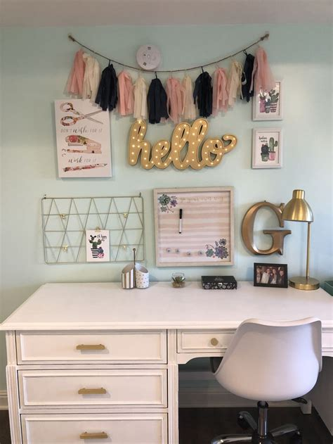 loves  work desk setup   perfect