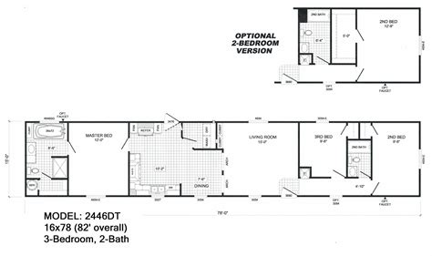 2 bed 2 bath house plans 1 bedroom single wide mobile home floor plans