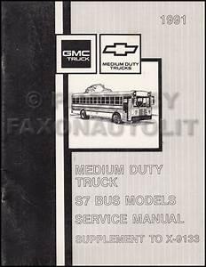 1991 Gmc  Chevy Topkick  Kodiak   U0026 S7 Wiring Diagram Manual Original