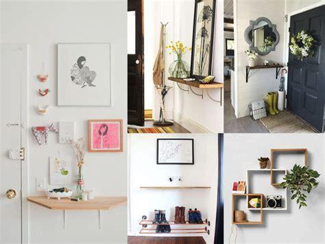 ideas sobre como decorar  recibidor pequeno