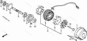 Honda Motorcycle 1983 Oem Parts Diagram For Alternator