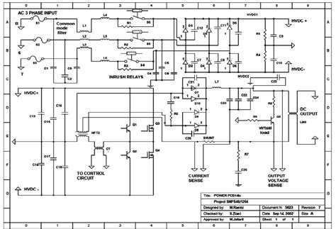 schematic  power circuits  fcwm  scientific