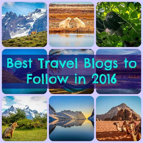 The Best Travel Blogs to Follow in 2016