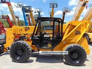 Jcb 508c Telehandler Forklift Service Repair Manual  U2013 Jcb