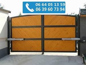 Porte De Garage Automatique : porte de garage automatique prix moteur pour portail ~ Dailycaller-alerts.com Idées de Décoration
