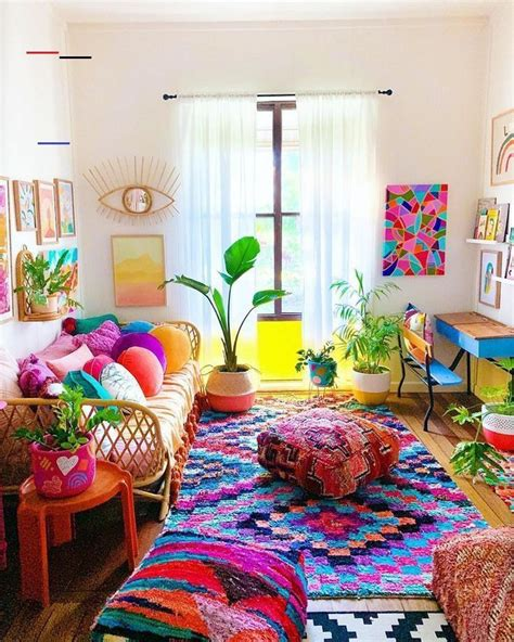 Boho living rooms feel warm and welcoming. Living Area in 2020 | Bohemian living room decor ...