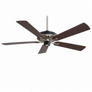 Minka aire f mbk bn iconic black nickel quot ceiling fan