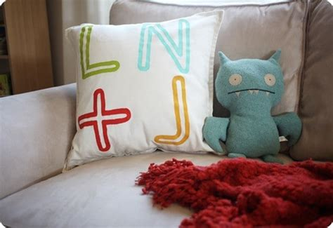 personalized initial pillow knockoffdecorcom
