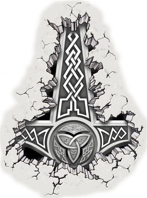thors hammer ancient symbol www pixshark com images