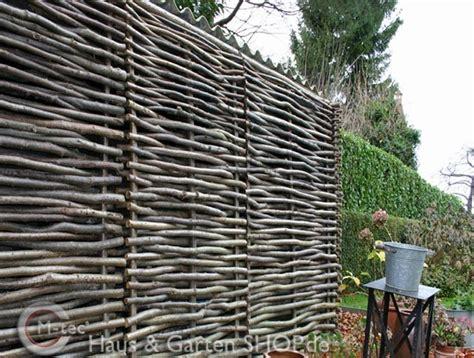 sichtschutzmatten aus natur bambusmatten