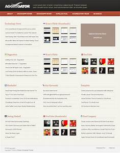news aggregator template images template design ideas With news aggregator template