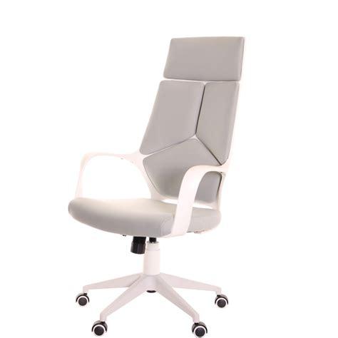 white office chair ergonomic modern ergonomic office chair grey white by timeoffice