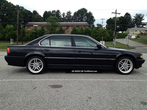 Bmw 740il by 1999 Bmw 740il Black On Black